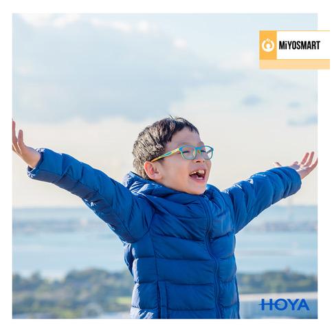 hoya miyosmart lenses work